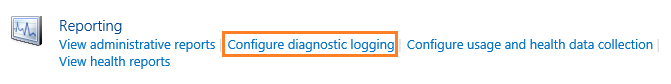 Configure Diagnostic Logging