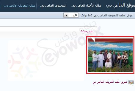 My site User Profile