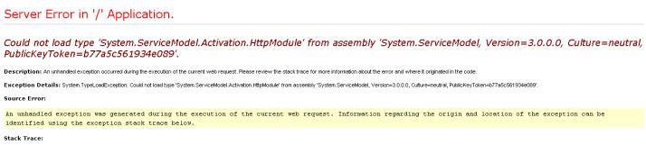 error-ServiceModel