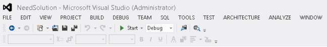 Missing Comment and Uncomment button In Visual Studio