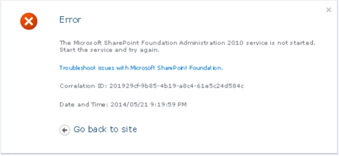SharePoint Administration 2010