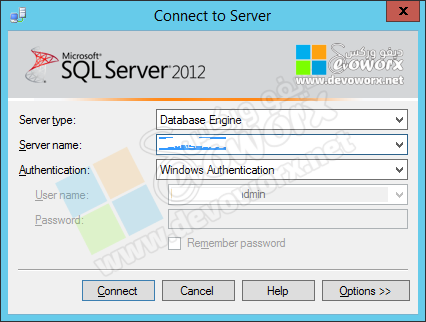 Connect to SQL Server Instance