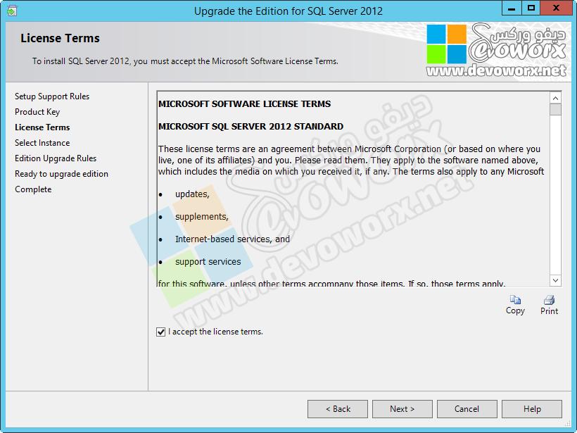 License Terms - SQL Server