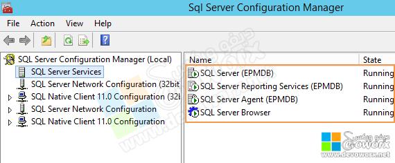 SQL Server Configuration Manager - restart the services