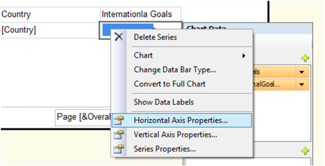 how to create charts in ssrs reports