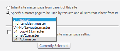 selectnewmasterpage