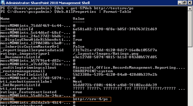 UnSet PWAURL property in Project Server using PowerShell
