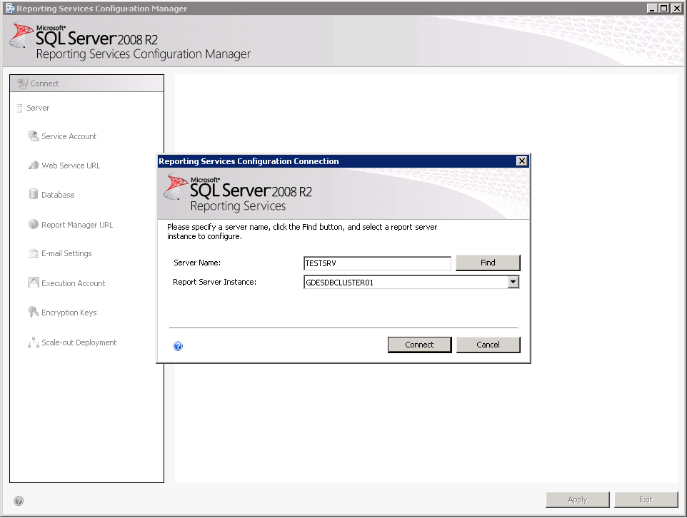 SSRS Error – The report server cannot decrypt the symmetric key used