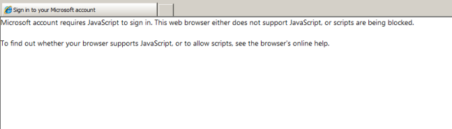 This web browser either does not support JavaScript or scripts are being blocked