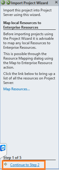 Map Local Resources to Enterprise Resources