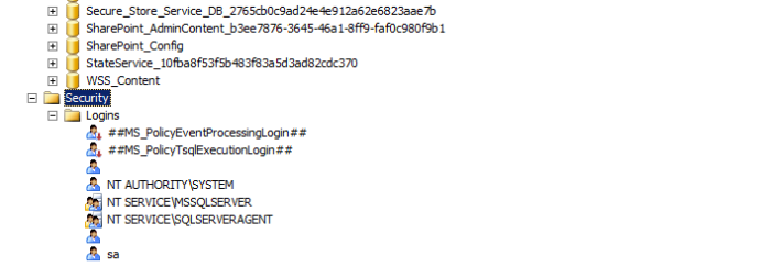 Security SQL