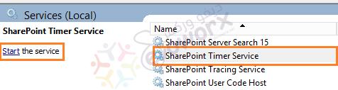 start-sharepoint-timer-service