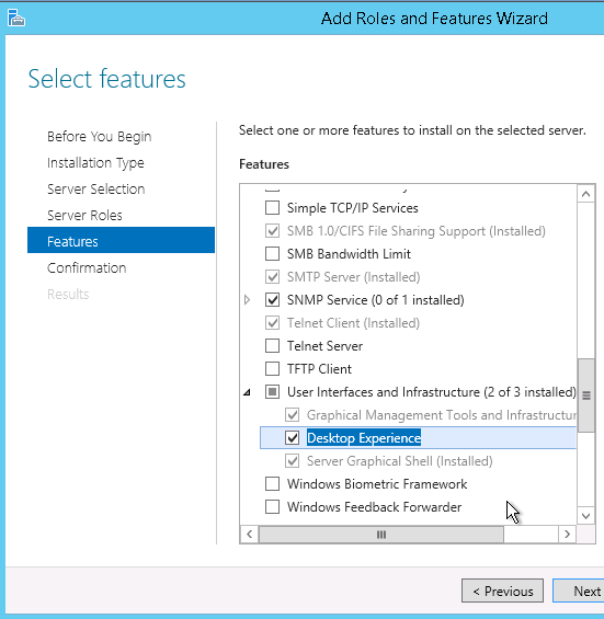 add-desktop-exprience-features - Open with explorer is not working in SharePoint