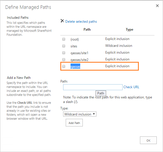 Open with explorer - configure managed path explicit