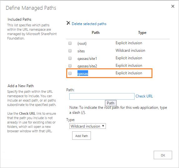Open with explorer - configure managed path explicit