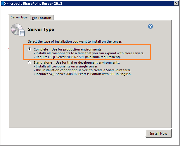 SharePoint-2013-upgrade-Server-Type