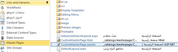 SharePointDesigner MasterPage