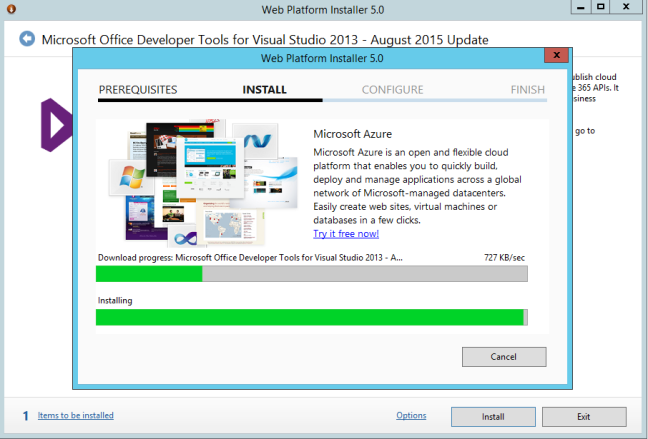 Install office tools agust update