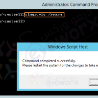 Evaluation Period expired for Windows Server 2012 R2, How to extend it ?