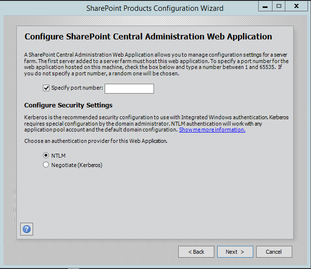 SharePoint-Server-2016-Configuration-Central-Administration