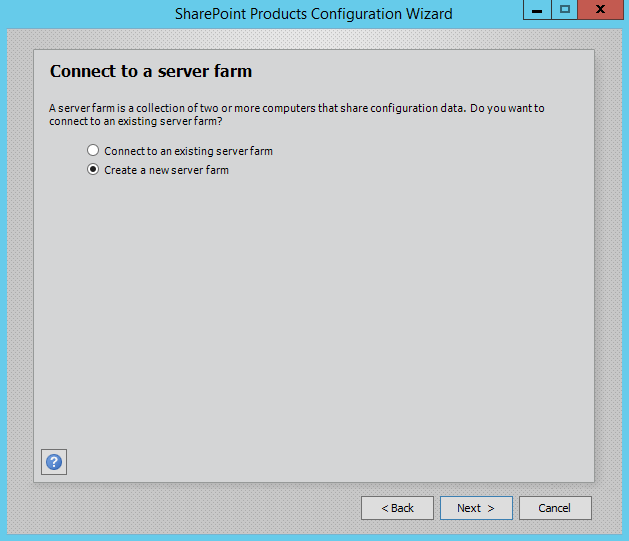 SharePoint-Server-2016-Configuration-Wizard-Connect-Server-Farm