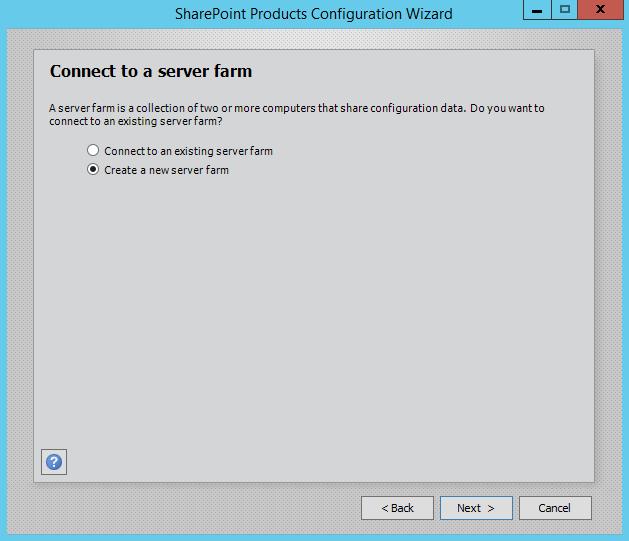 SharePoint-Server-2016-Configuration-Wizard-Connect-Server-Farm