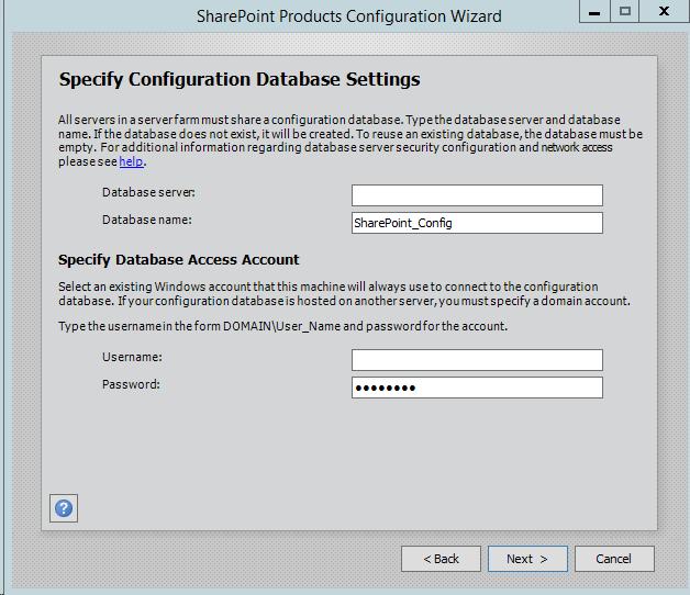 SharePoint-Server-2016-Configuration-Wizard-Database-Settings