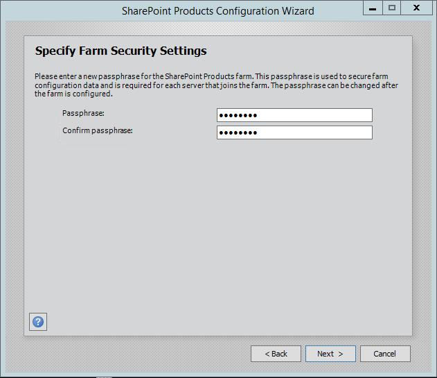 SharePoint-Server-2016-Configuration-Wizard-Passphrase