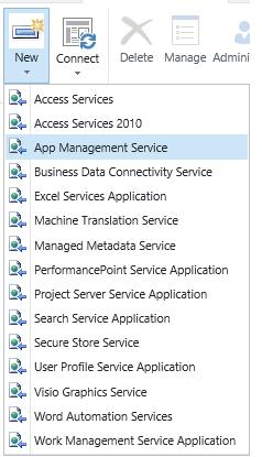 Add App Management Service