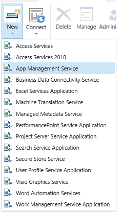 Add App Management Service