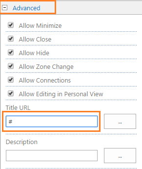 Advanced - Title URL1