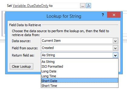 Check blank date in SharePoint Designer Workflow