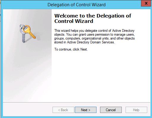 delegation control wizard