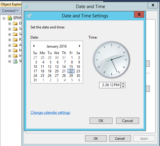 Change the date - Extend the SQL Evaluation period after the second expiration