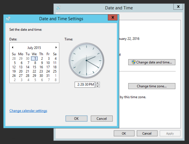 Extend SQL Server Trial Period - Change the machine date
