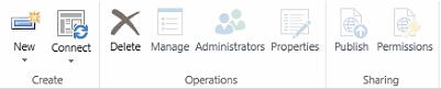delete service application
