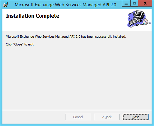 Install Microsoft Exhanage Webservices 5