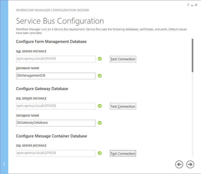 Service bus config - Configure Workflow Manager for SharePoint 2013