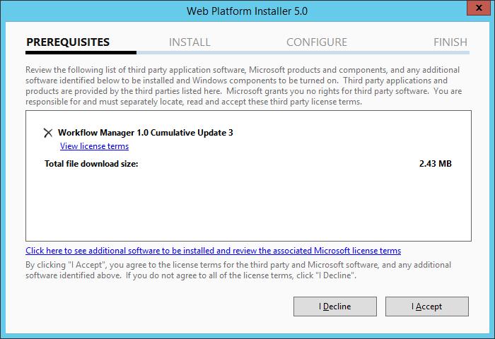 Install Workflow Manager Cumulative Update