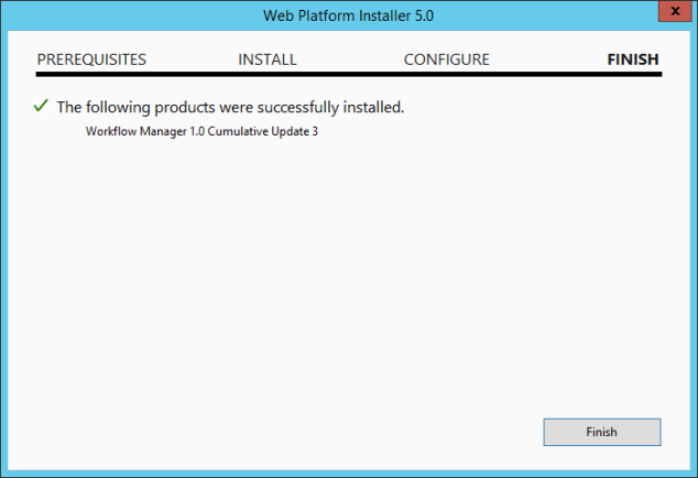 Install Workflow Manager Cumulative Update