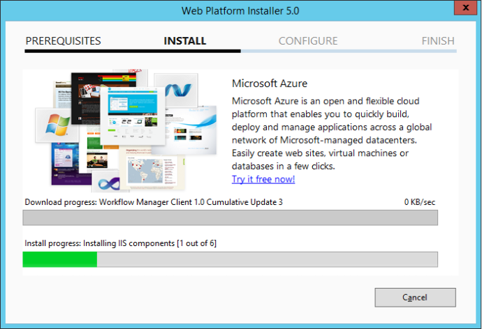 Workflow manager install4
