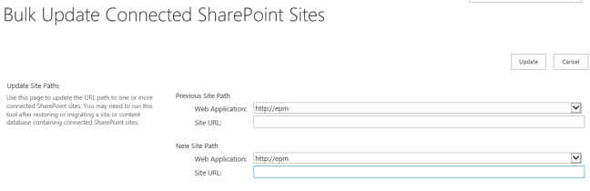 Bulk Update Connected SharePoint Sites