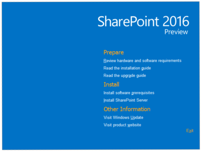 SharePoint-2016-IT-Preview-released