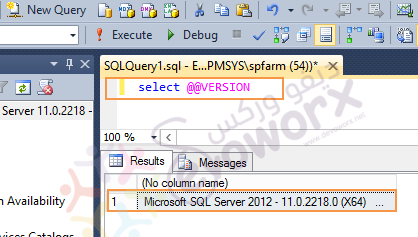 SQL Server Versions by query