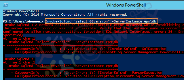 SQL Server Versions by windows PowerShell error.png