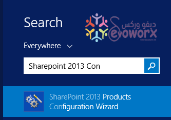 Run SharePoint Products Configuration Wizard