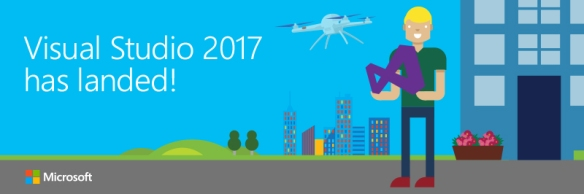 Visual Studio 2017 has landed