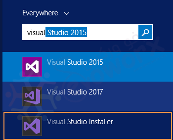 Visual Studio 2017 Installer