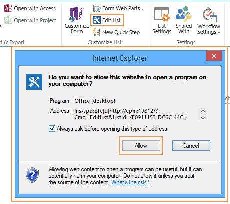 o15.officeredir.microsoft.compage can't be found