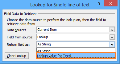 Using Lookup Field in SharePoint Calculated Column Formula